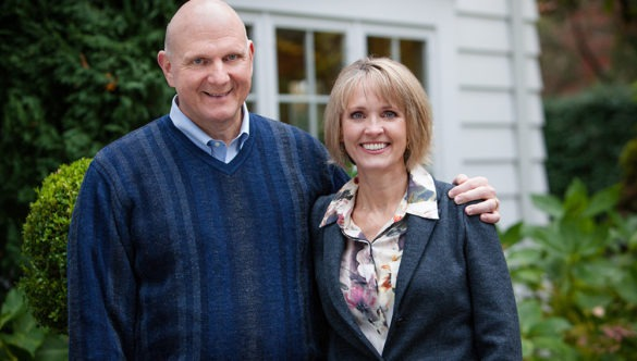 Connie and Steve Ballmer photo