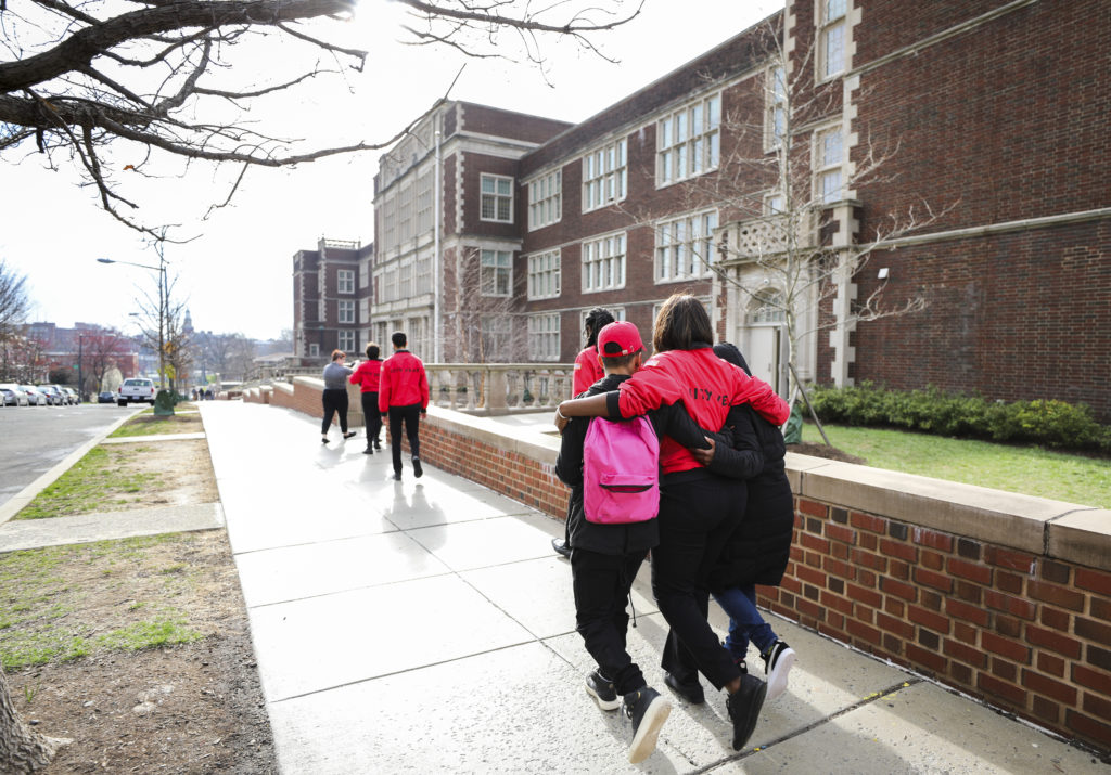 City Year AmeriCorps members serve students in and out of school