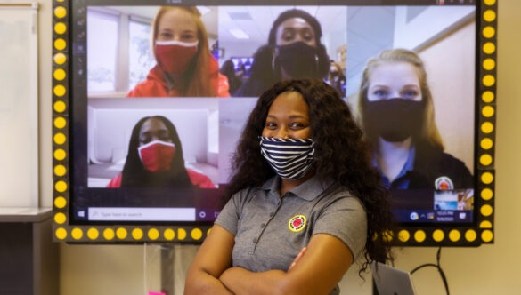 City Year in person and virtual learning