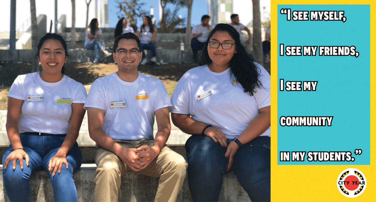 Three AmeriCorps members serve their alma mater in L.A.