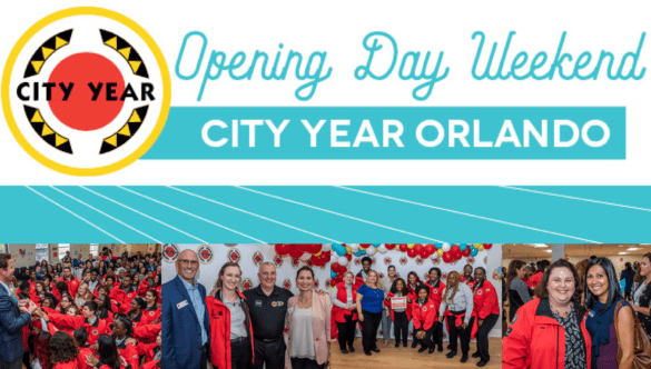 City Year Orlando opening day header image