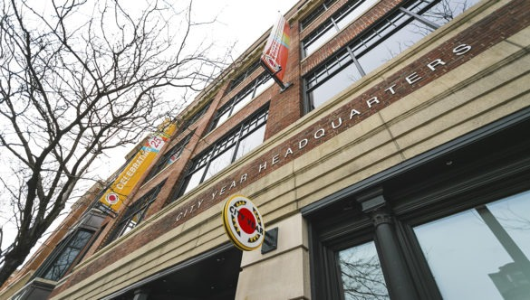 City Year Headquarters building, located in Boston, MA.