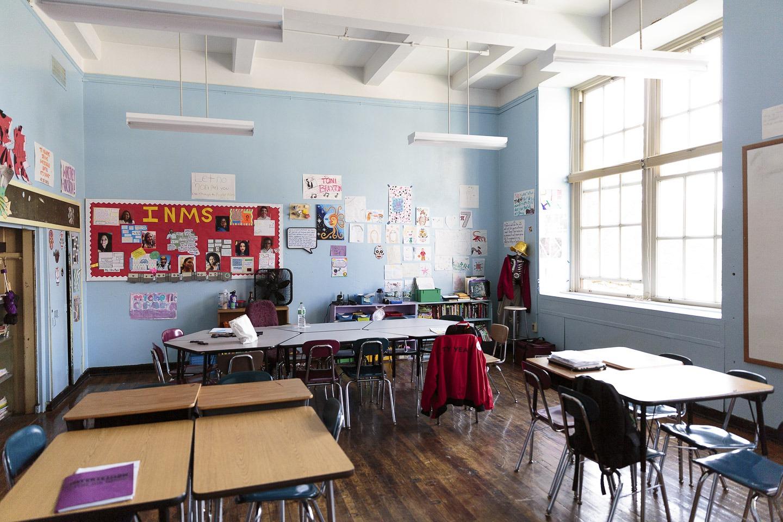 City Year classroom