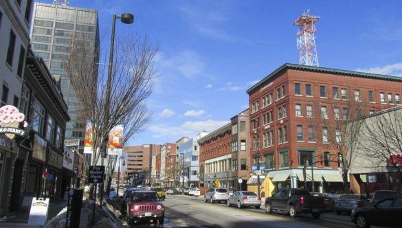 Downtown Keene, New Hampshire