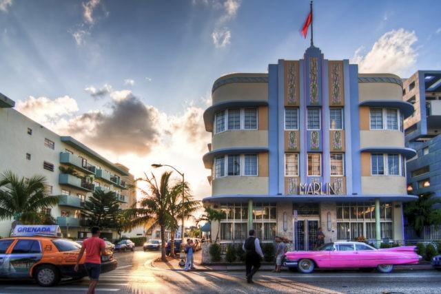 Collins Ave in Miami