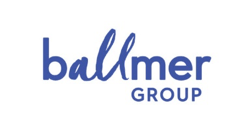 blue logo of ballmer group