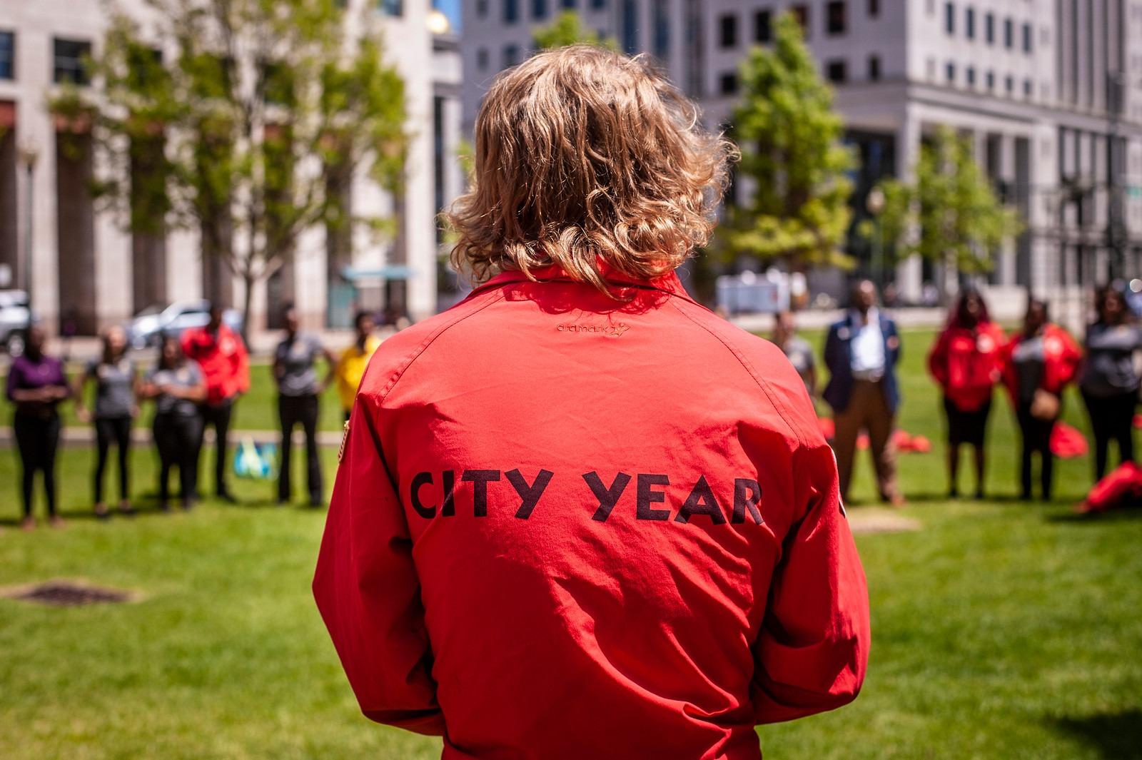 City Year AmeriCorps Member