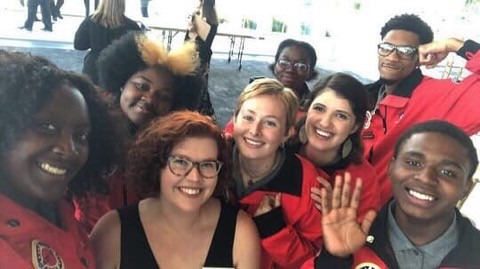 The City Year AmeriCorps member community