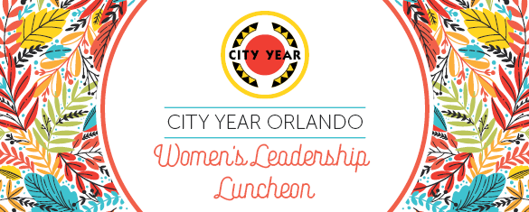 City Year Orlando Women's Leadership event header