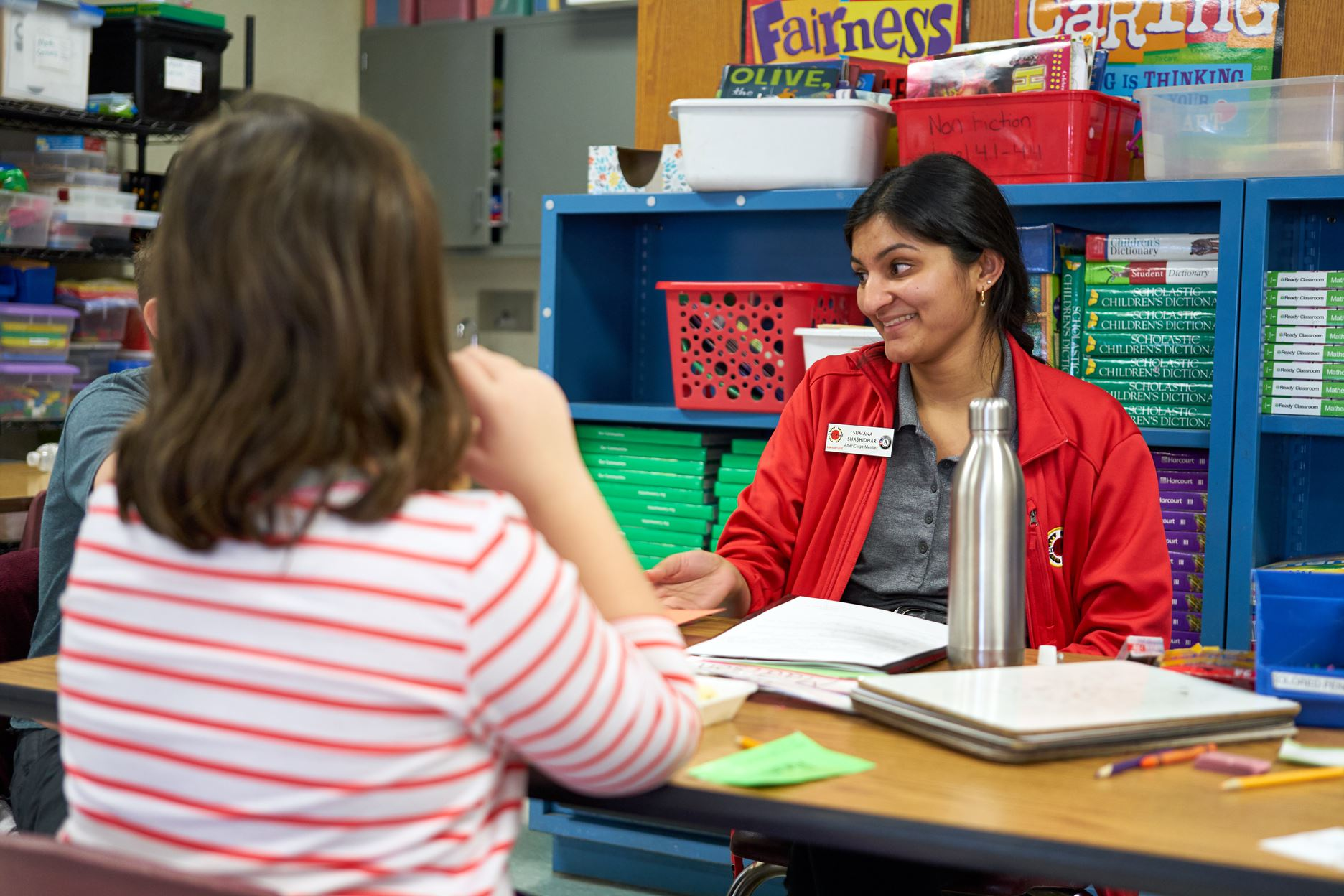 City Year AmeriCorps member details the half way point of her service journey