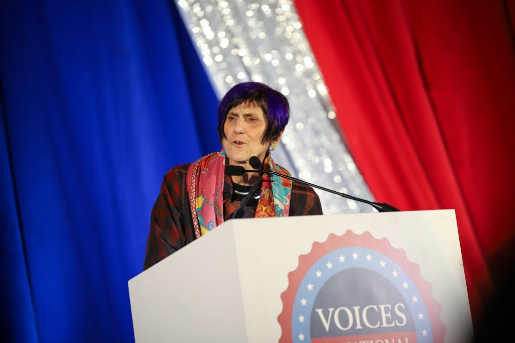 Rep. Rosa DeLauro speaks at Voices for National Service