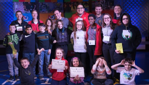 students attend Manchester's FIRST LEGO League Expo