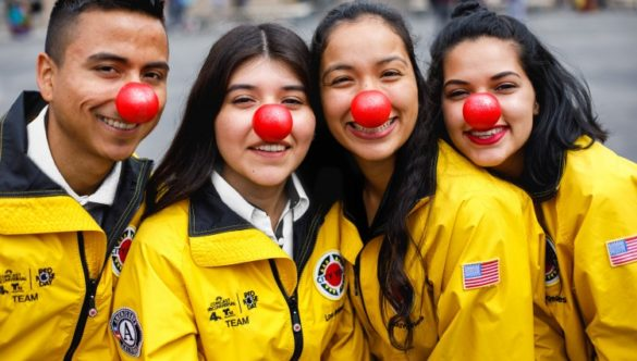 Red Nose Day and City Year AmeriCorps