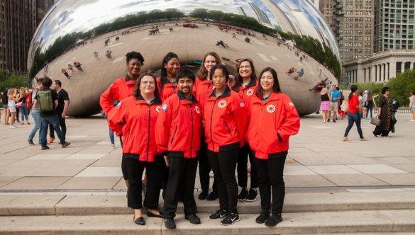 The City Year Chicago Team serving at Lovett Elementary School Lovett
