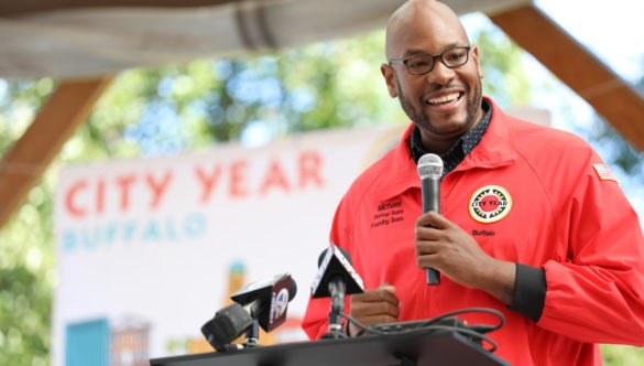 City Year Buffalo opening day Executive Director