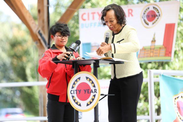 City Year Buffalo Opening Day Celebration