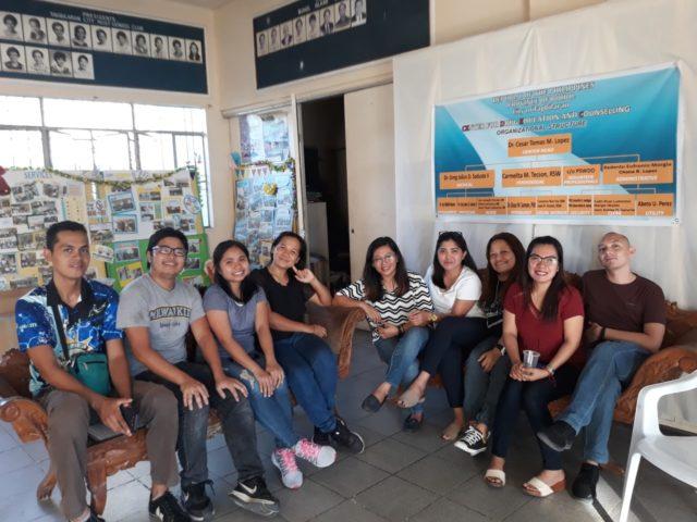 Peace Corps team