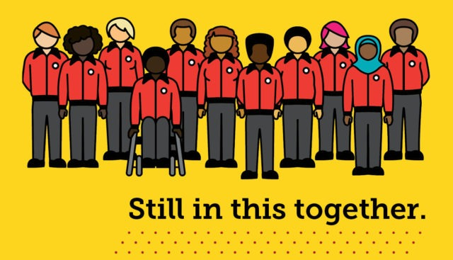 City Year AmeriCorps still in this together