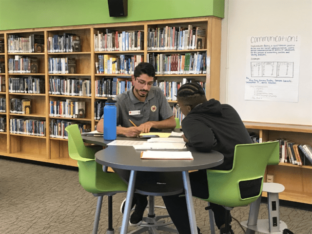 City Year AmeriCorps student success coaching