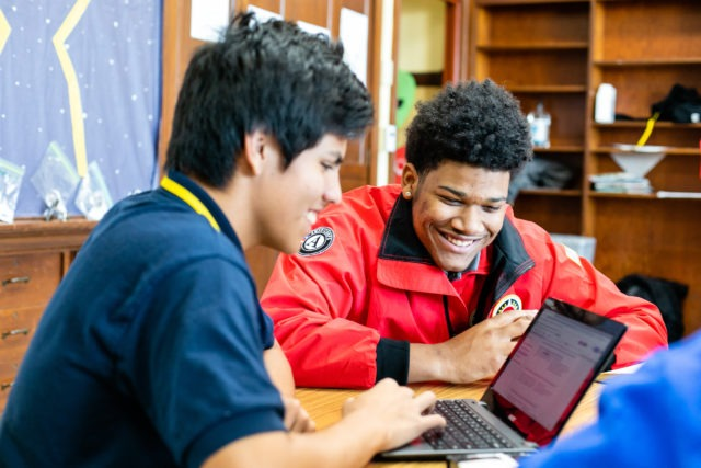 City Year AmeriCorps supports students