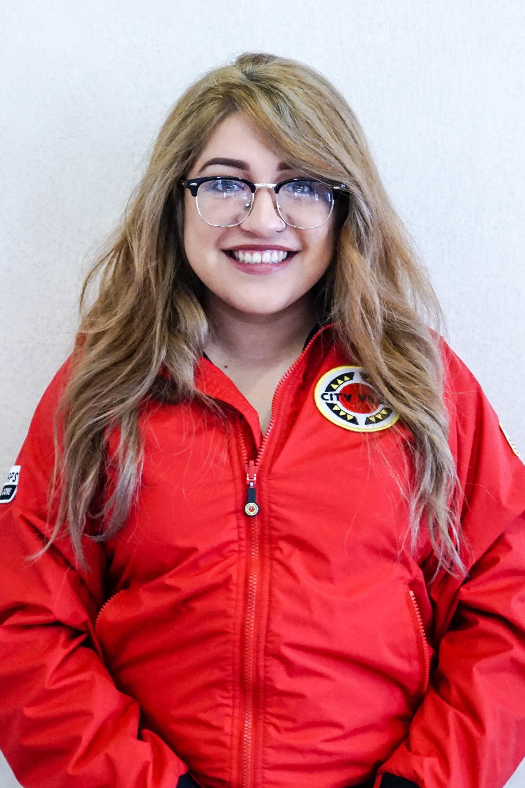 City Year Milwaukee AmeriCorps member, Fernie Torres