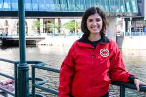 City Year Milwaukee AmeriCorps member, Kristina