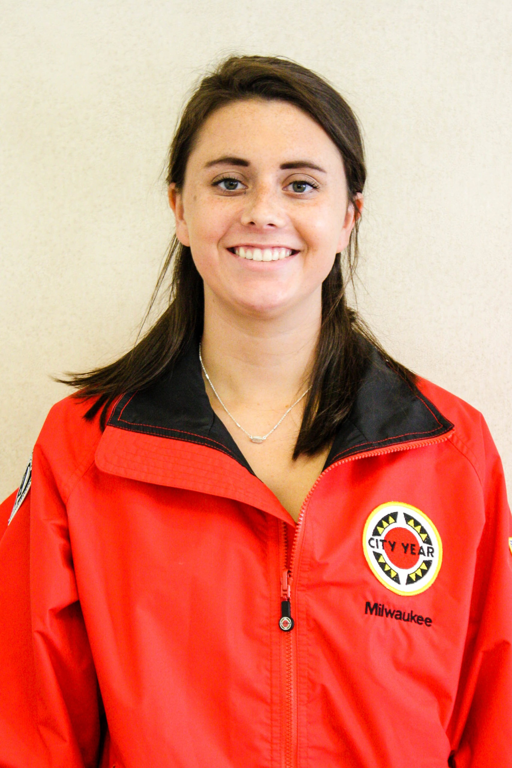 City Year Milwaukee AmeriCorps member