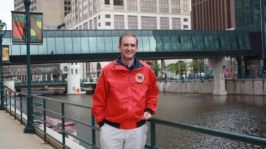 City Year AmeriCorps member quit his job to serve