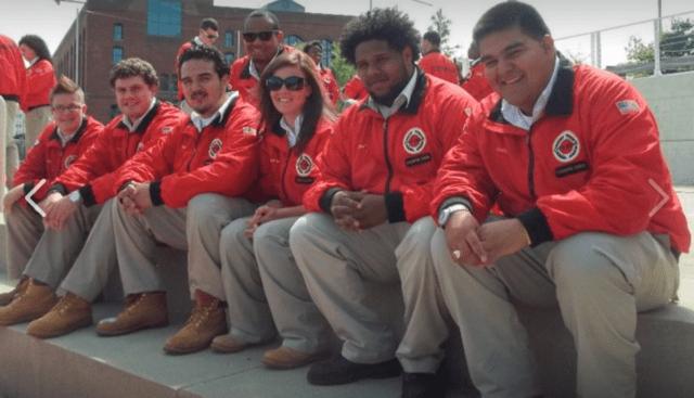 City Year Milwaukee AmeriCorps members