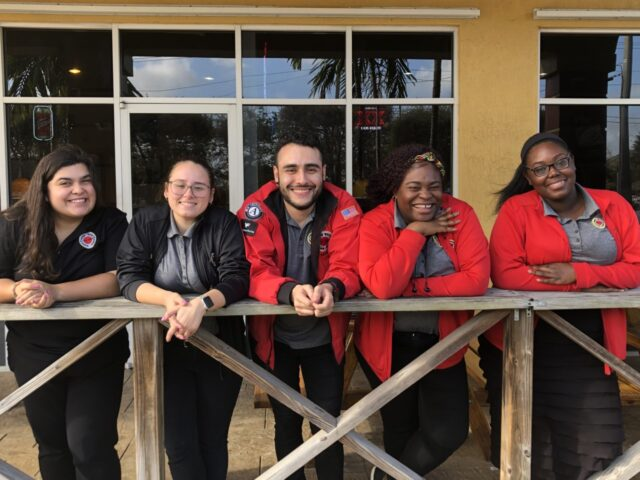 City Year AmeriCorps members in national service