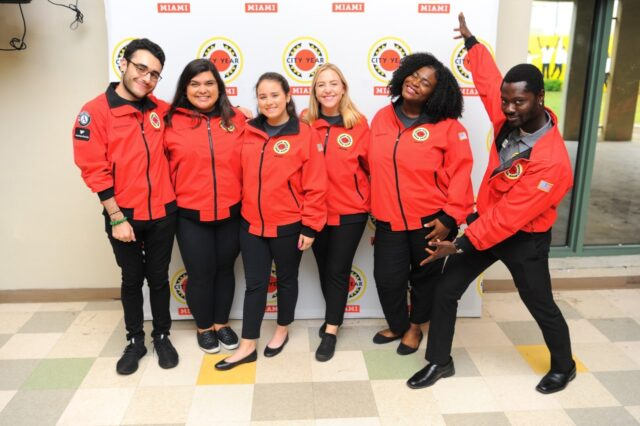 City Year Miami service team