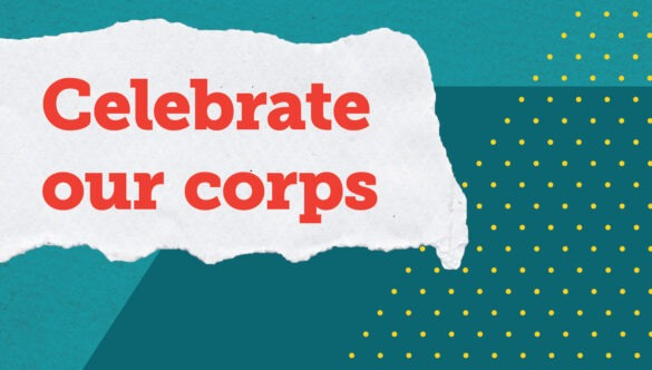 Celebrate our City Year AmeriCorps members